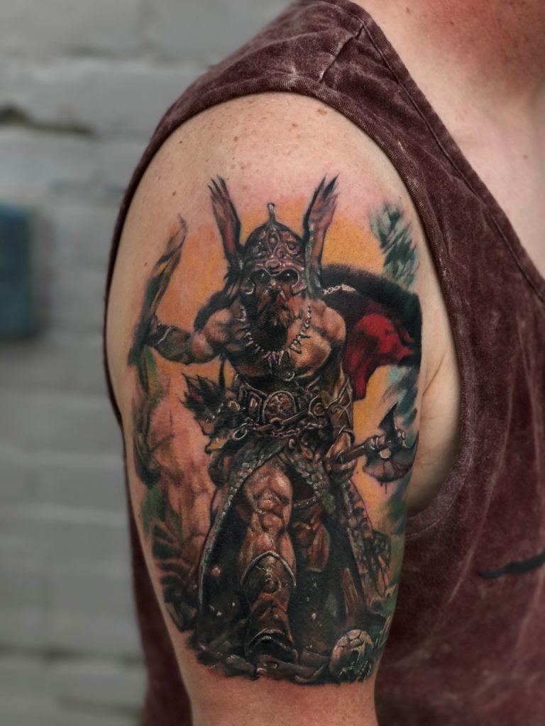 Adam Hoopes - Eclectic Bodyart - Pure Ink Tattoo Guest Artist
