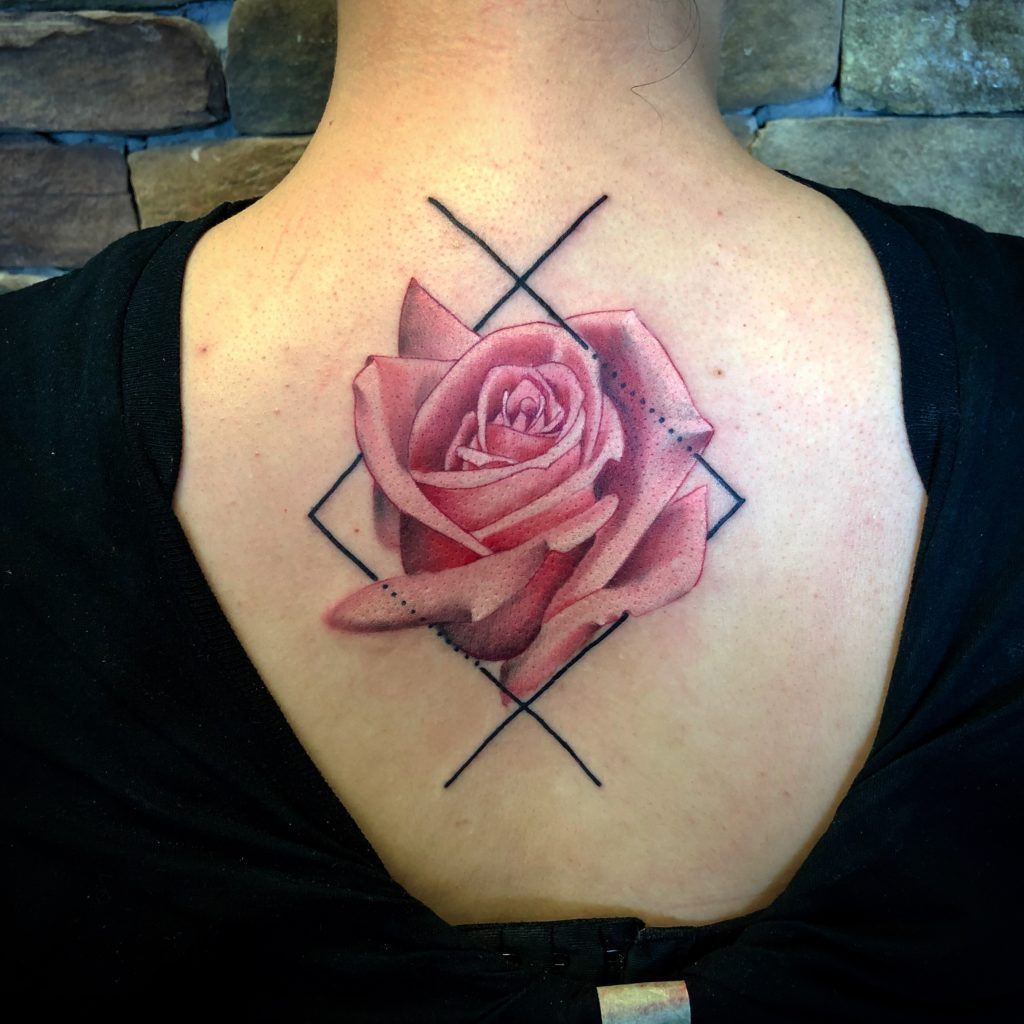 Pure Ink Tattoo - NJ - John Kosco - Rose Tattoo