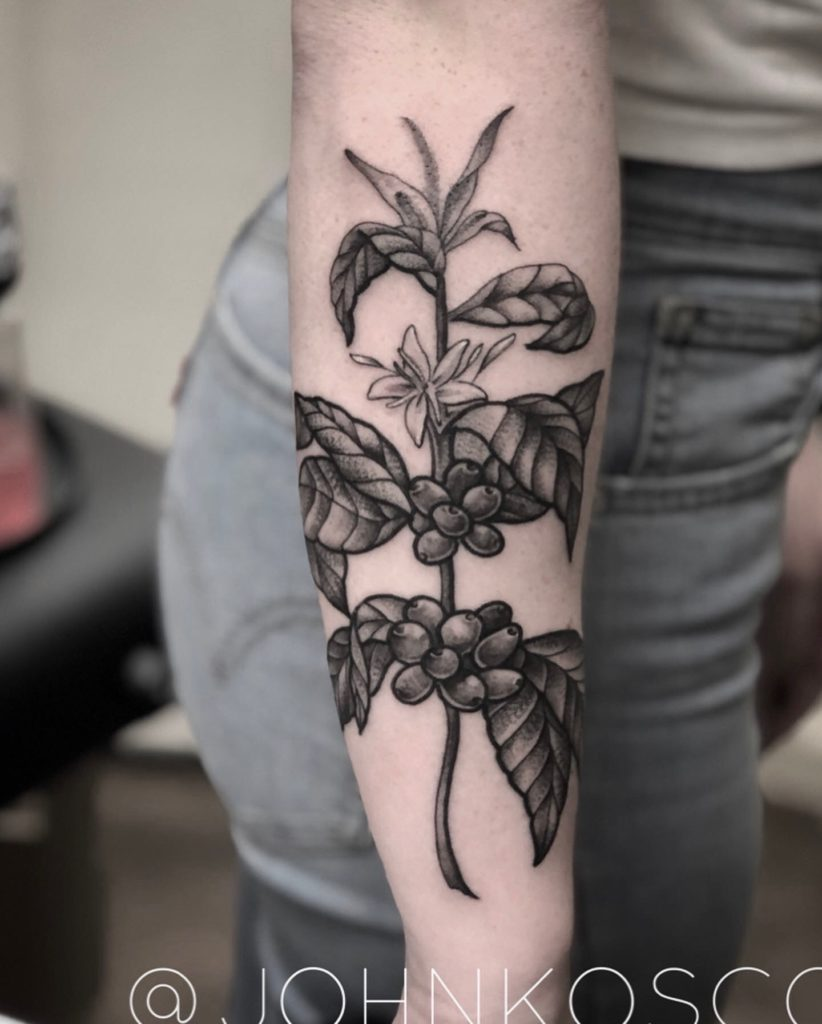 Pure Ink Tattoo - NJ - John Kosco - Flower Tattoo