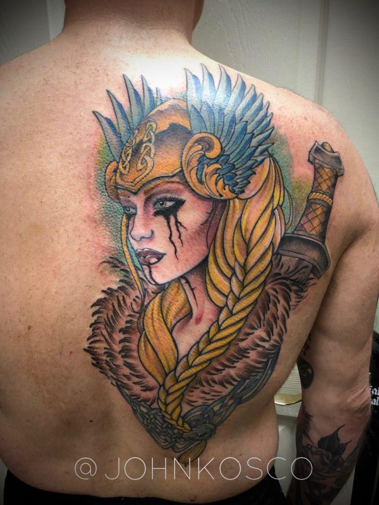 Pure Ink Tattoo - NJ - John Kosco - Viking Tattoo