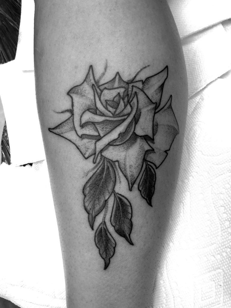 Pure Ink Tattoo - NJ - John Kosco - Rose Tattoo