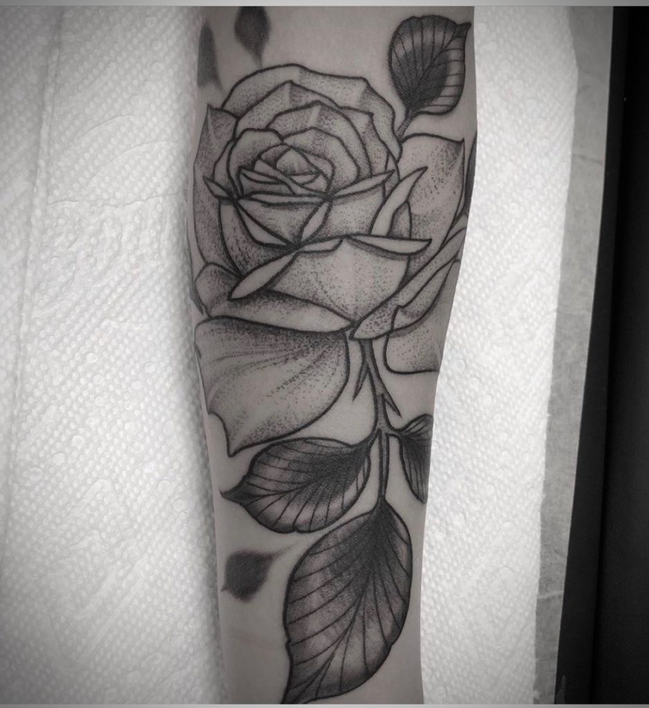 Pure Ink Tattoo - NJ - John Kosco - Rose Dot Tattoo
