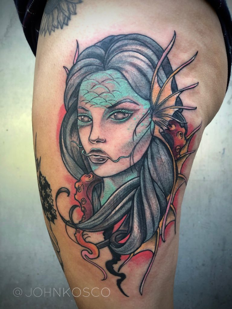 Pure Ink Tattoo - NJ - John Kosco - Siren Tattoo