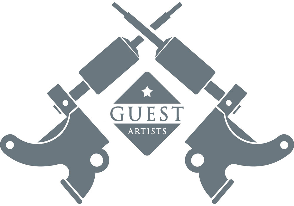 Guest Artist Logo - Pure Ink