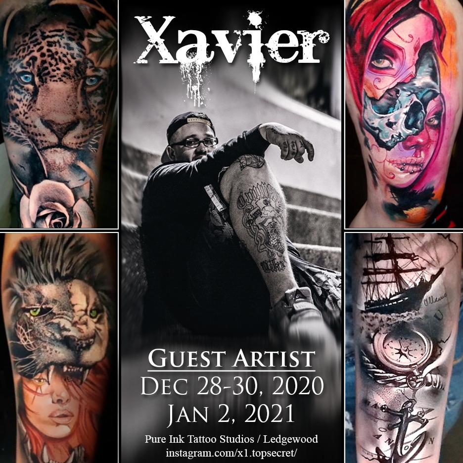 Xavier - Tattoo Artist - Pure Ink Tattoo