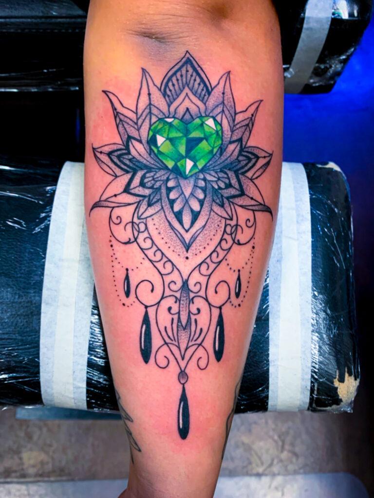 Pure Ink Tattoo - NJ - Tito Rodriguez - Mandala Tattoo