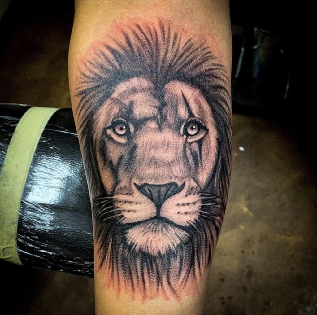 Pure Ink Tattoo - NJ - Tito Rodriguez - Lion Tattoo