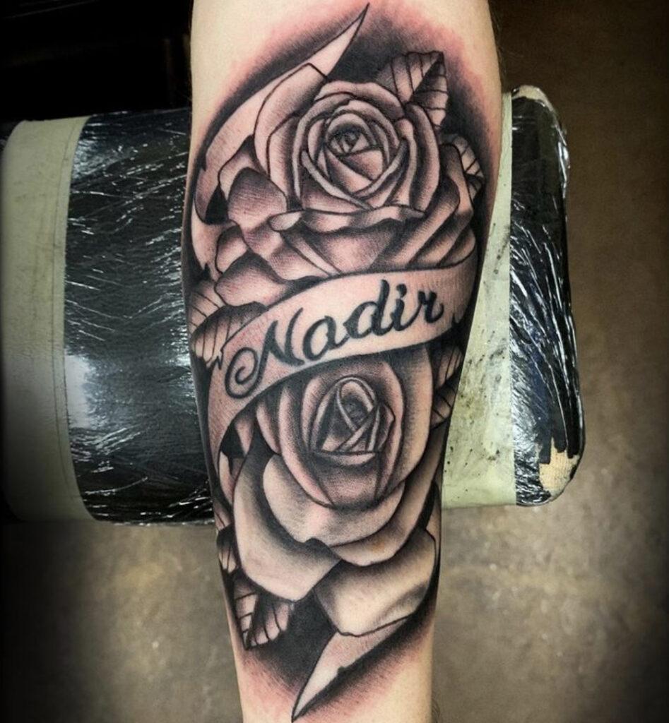 Pure Ink Tattoo - NJ - Tito Rodriguez - Rose Tattoo