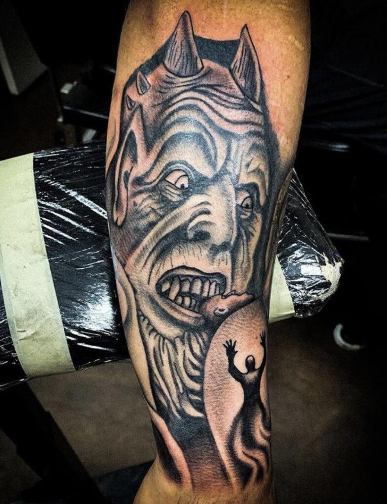 Pure Ink Tattoo - NJ - Tito Rodriguez - Devil Tattoo