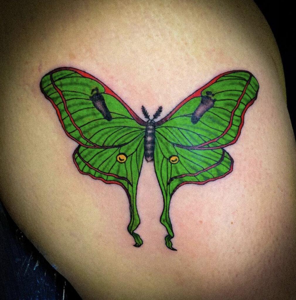Pure Ink Tattoo - NJ - Tito Rodriguez - Butterfly Tattoo