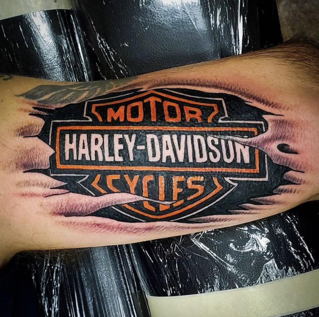 Pure Ink Tattoo - NJ - Tito Rodriguez - Harley Davidson Tattoo